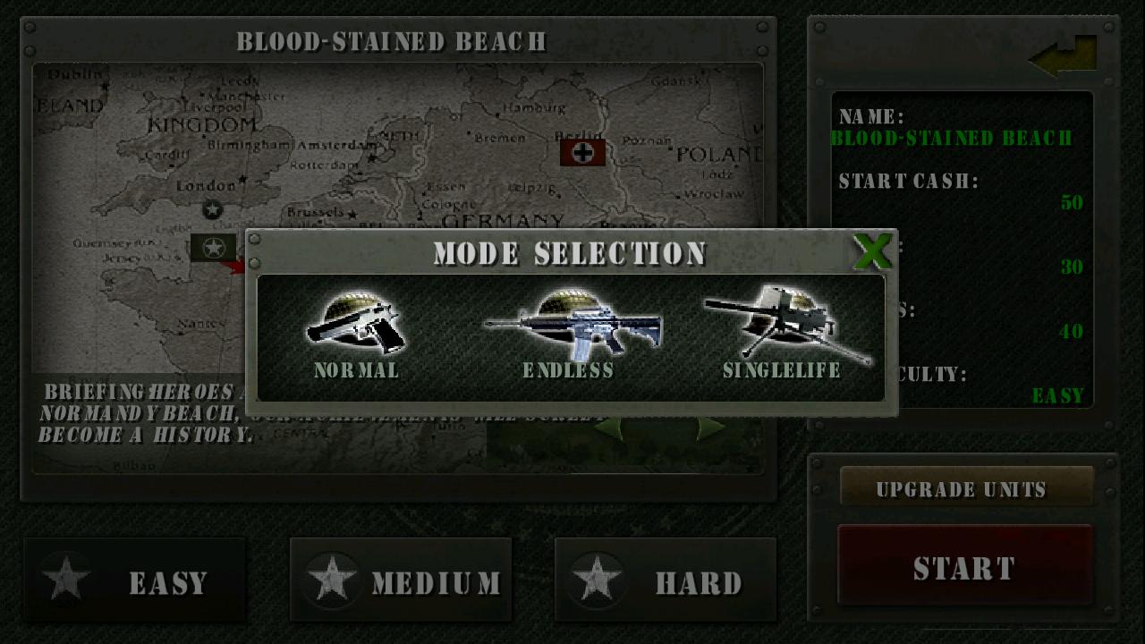 栄光の兵士たち:第二次世界大戦 無料 androidアプリスクリーンショット3