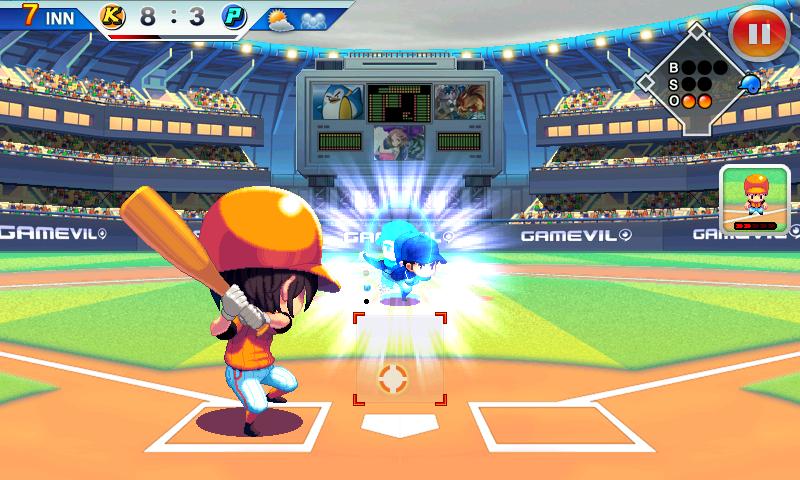androidアプリ ベースボールスーパースターズ 2012攻略スクリーンショット4