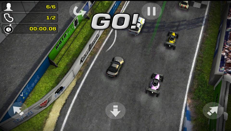 レクレスレーシング2 androidアプリスクリーンショット1