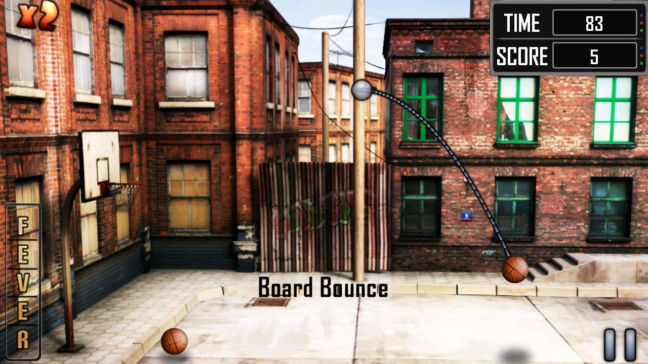 androidアプリ スラムダンク バスケットボール攻略スクリーンショット1