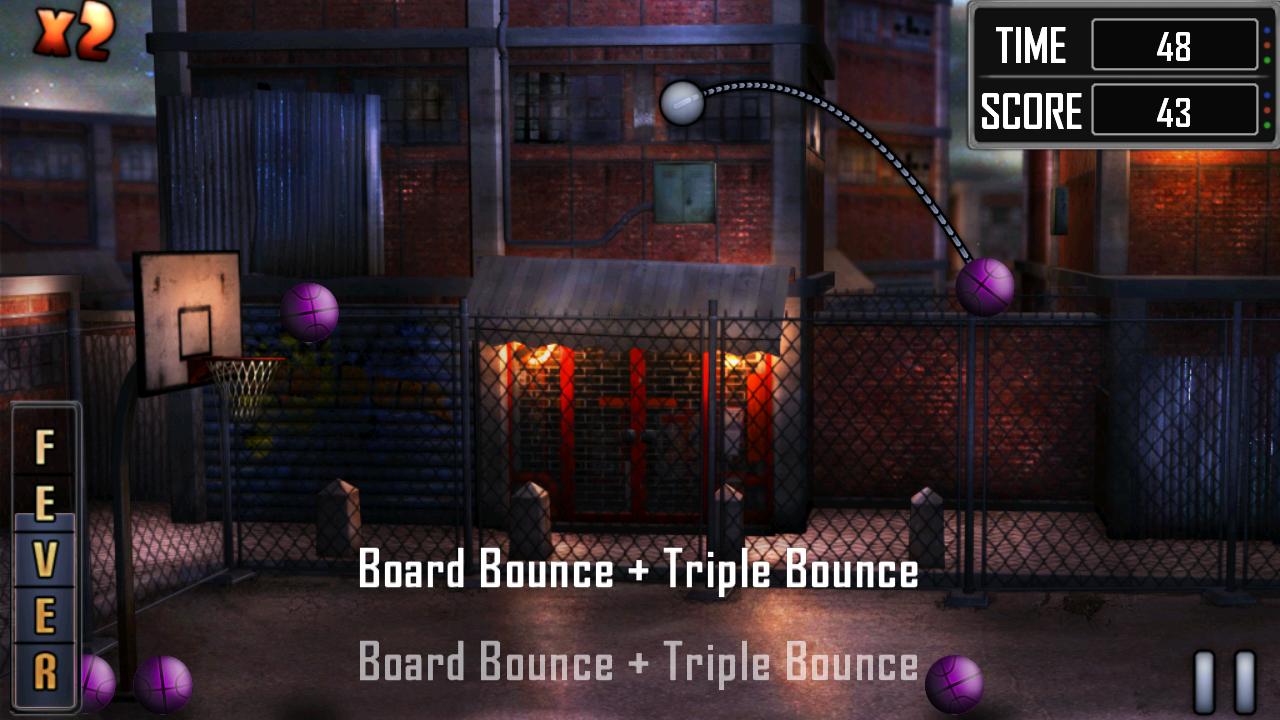 スラムダンク バスケットボール androidアプリスクリーンショット2