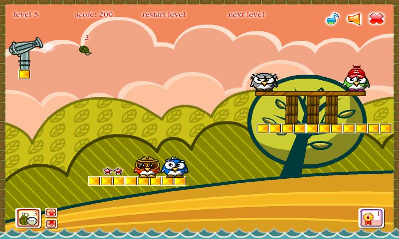 androidアプリ ペンギン駆逐艦攻略スクリーンショット2