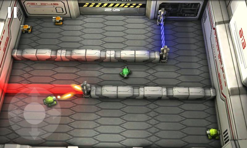 androidアプリ タンクヒーロー: レーザーウォーズ攻略スクリーンショット2