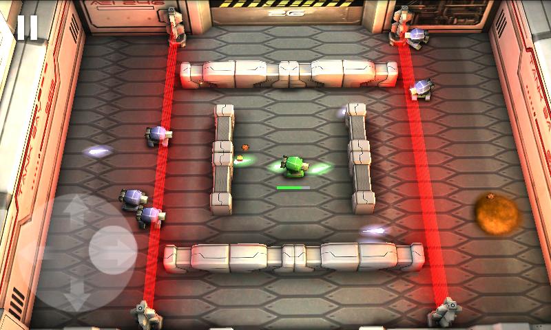 androidアプリ タンクヒーロー: レーザーウォーズ攻略スクリーンショット5