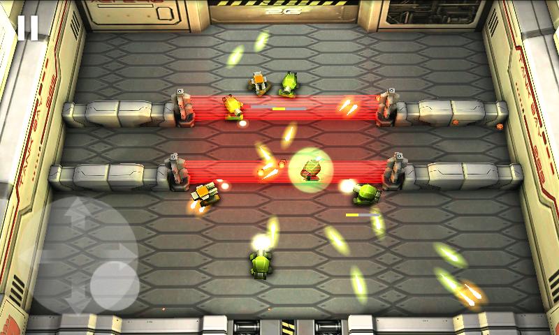 タンクヒーロー: レーザーウォーズ androidアプリスクリーンショット1