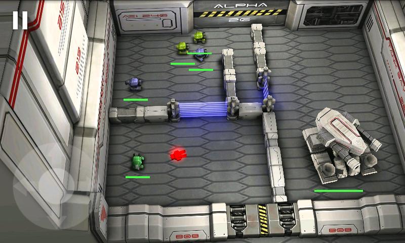 タンクヒーロー: レーザーウォーズ androidアプリスクリーンショット2