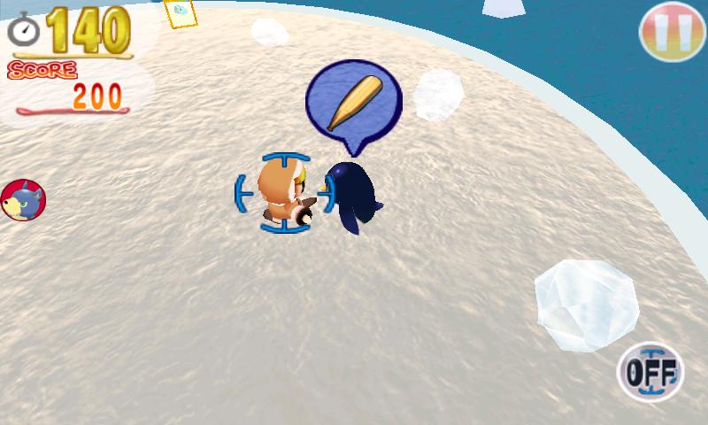androidアプリ サバイバルペンギン攻略スクリーンショット2