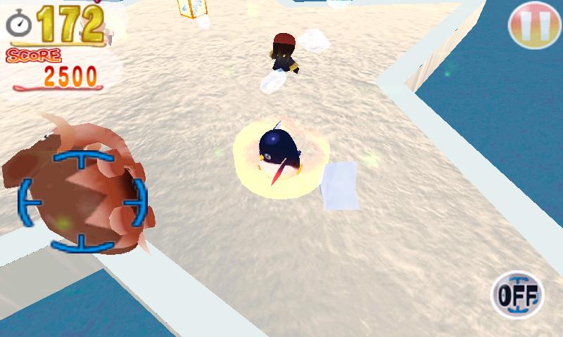 androidアプリ サバイバルペンギン攻略スクリーンショット3