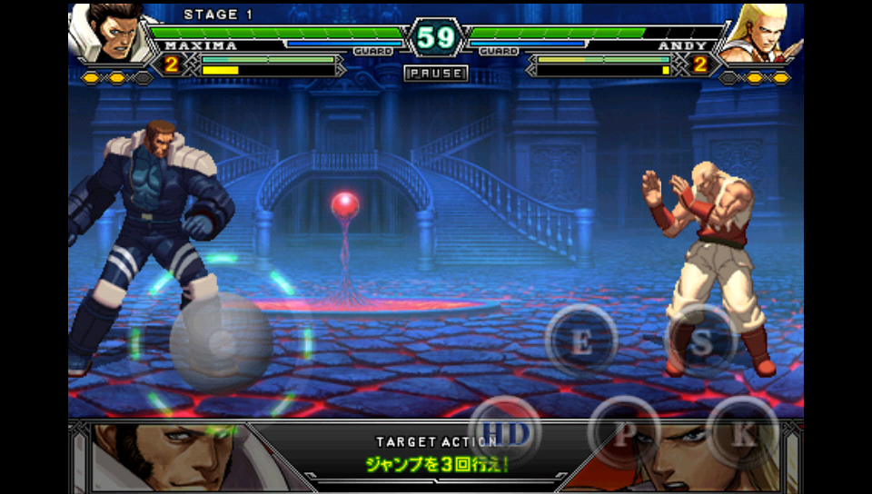 androidアプリ THE KING OF FIGHTERS Android攻略スクリーンショット1