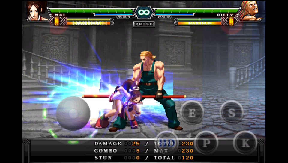 androidアプリ THE KING OF FIGHTERS Android攻略スクリーンショット2