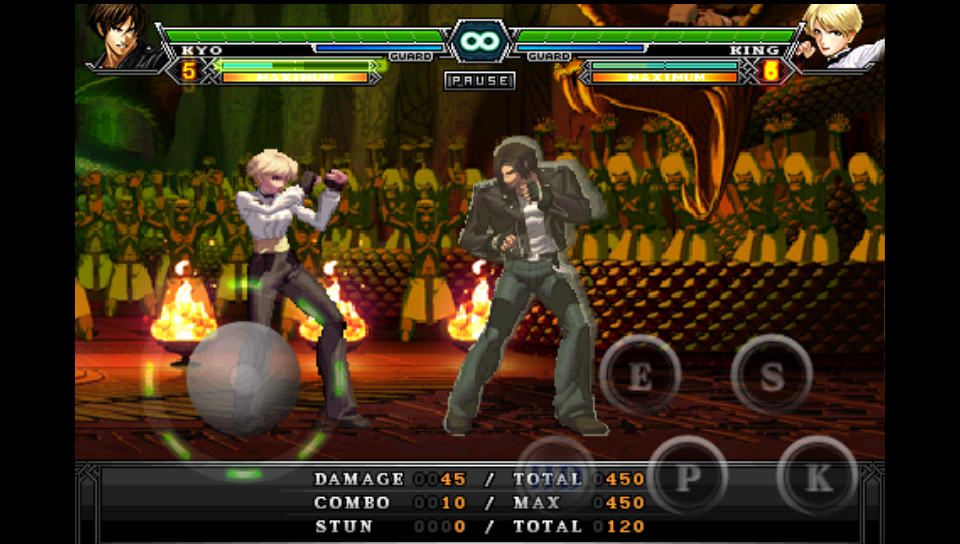 androidアプリ THE KING OF FIGHTERS Android攻略スクリーンショット3