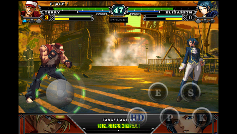 THE KING OF FIGHTERS Android androidアプリスクリーンショット1