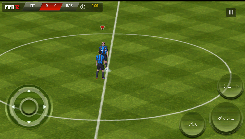androidアプリ FIFA 12 by EA SPORTS攻略スクリーンショット2