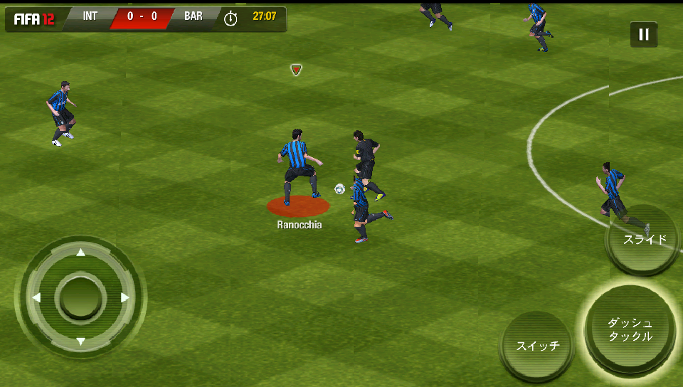 androidアプリ FIFA 12 by EA SPORTS攻略スクリーンショット3