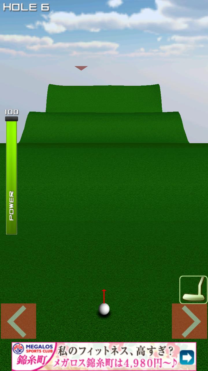 1球パターゴルフ2~ボールを曲げて無理難題を攻略! androidアプリスクリーンショット2