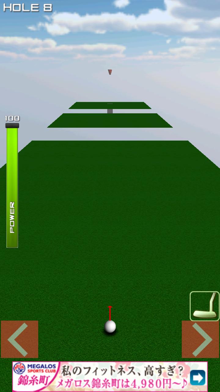 1球パターゴルフ2~ボールを曲げて無理難題を攻略! androidアプリスクリーンショット3