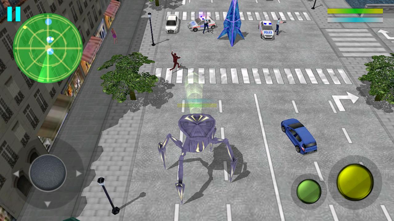 androidアプリ パリを破壊せよ - デモ攻略スクリーンショット2