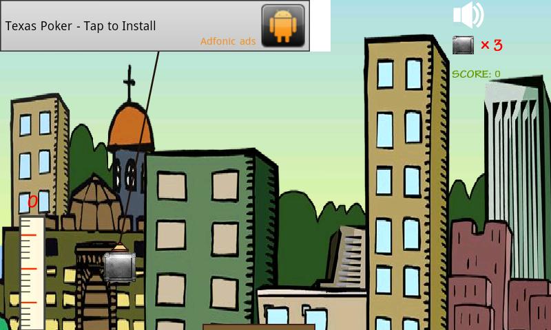 androidアプリ タワー·ビルダー攻略スクリーンショット1