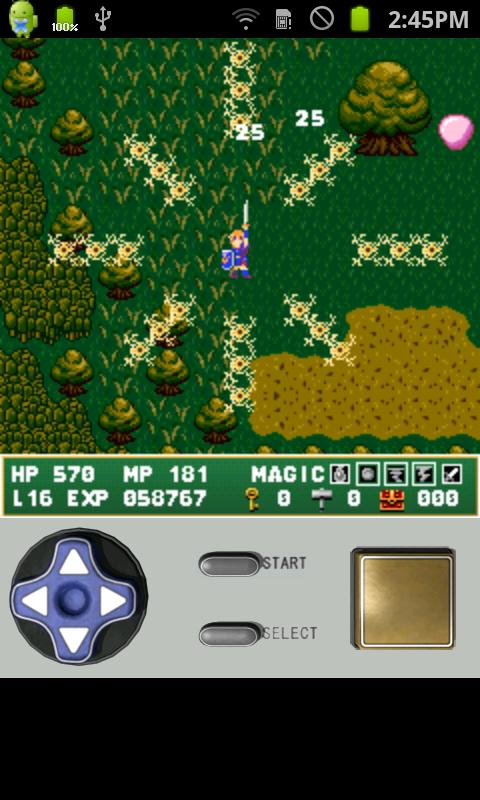 アクションRPG・勇者の証(しるし) androidアプリスクリーンショット3