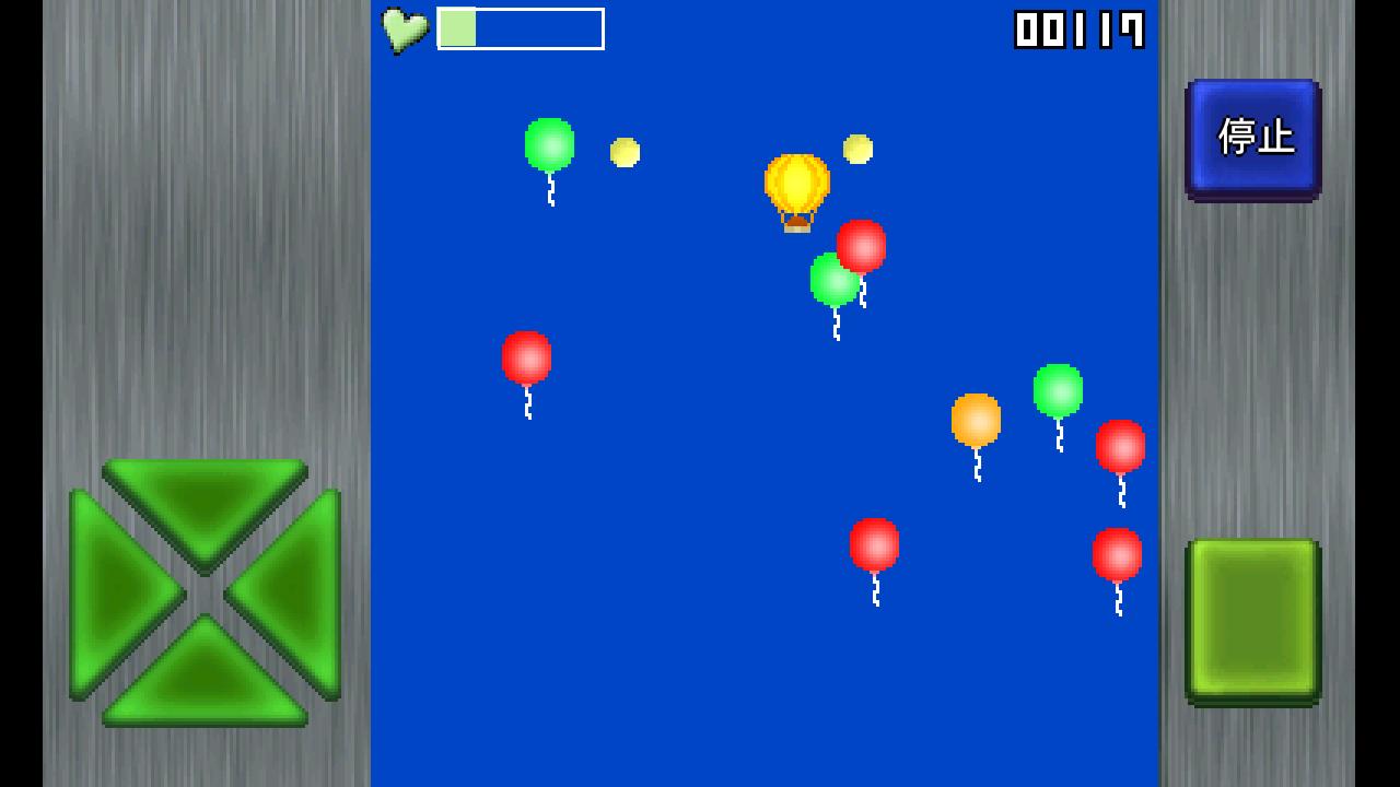androidアプリ おばちゃんと風船爆弾攻略スクリーンショット2