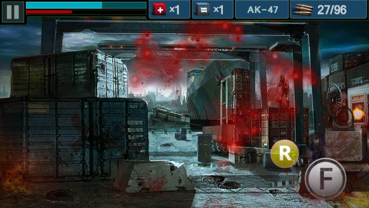 androidアプリ ガン&ブラッド攻略スクリーンショット2