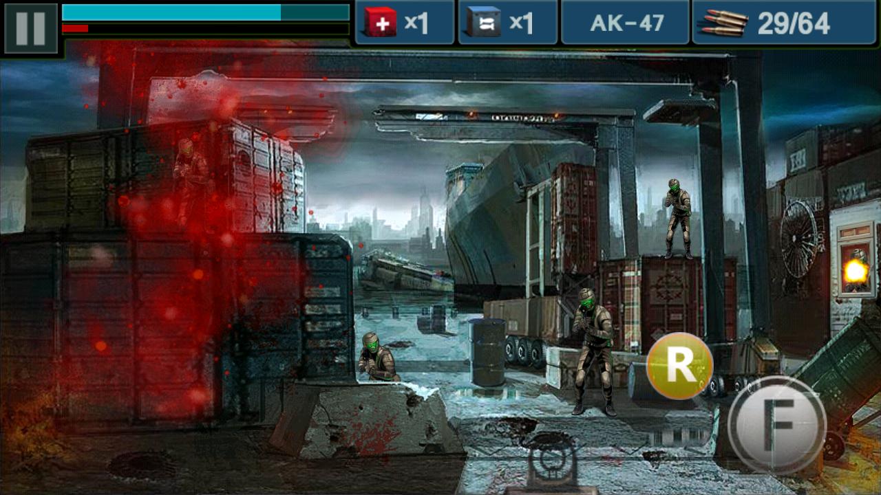 ガン&ブラッド androidアプリスクリーンショット1