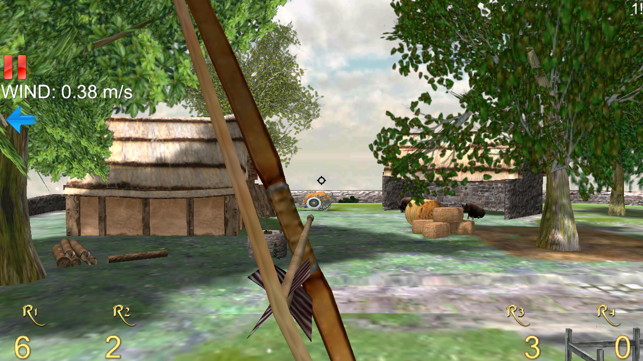 ロングボウ - アーチェリー 3D ライト androidアプリスクリーンショット1