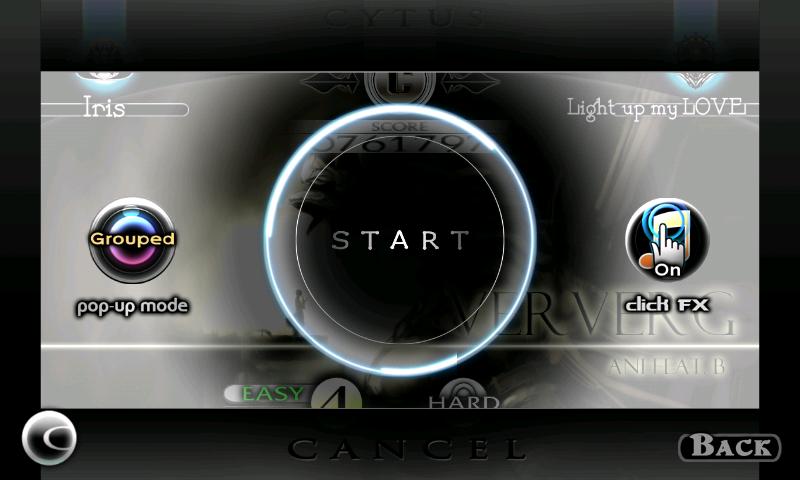 androidアプリ Cytus攻略スクリーンショット1