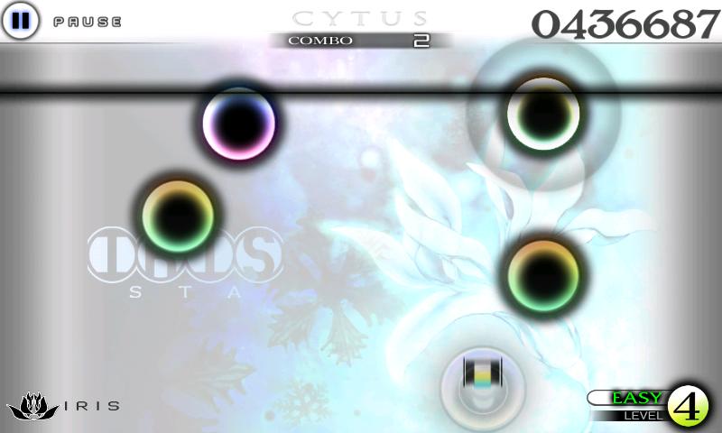 androidアプリ Cytus攻略スクリーンショット2