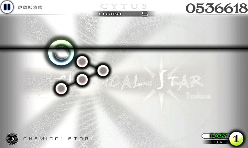androidアプリ Cytus攻略スクリーンショット3