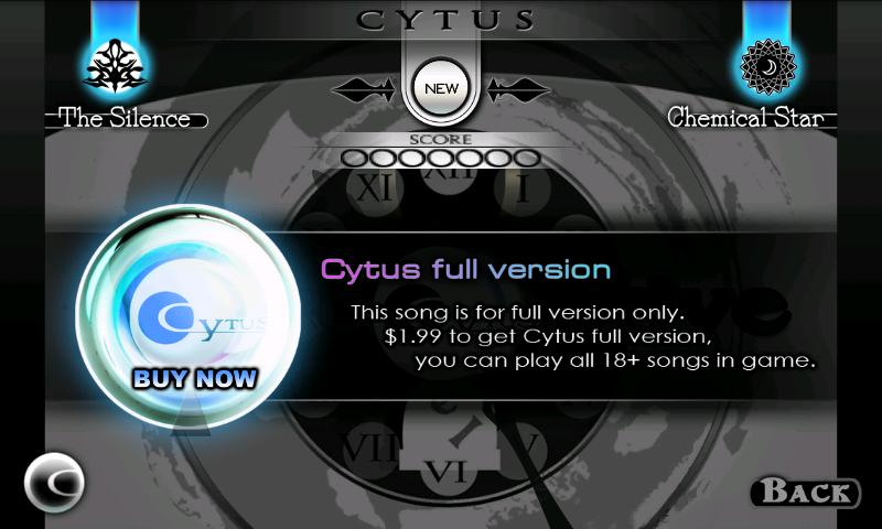 androidアプリ Cytus攻略スクリーンショット5