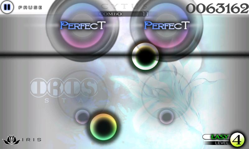 Cytus androidアプリスクリーンショット1