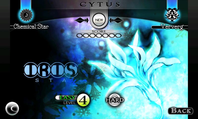 Cytus androidアプリスクリーンショット2
