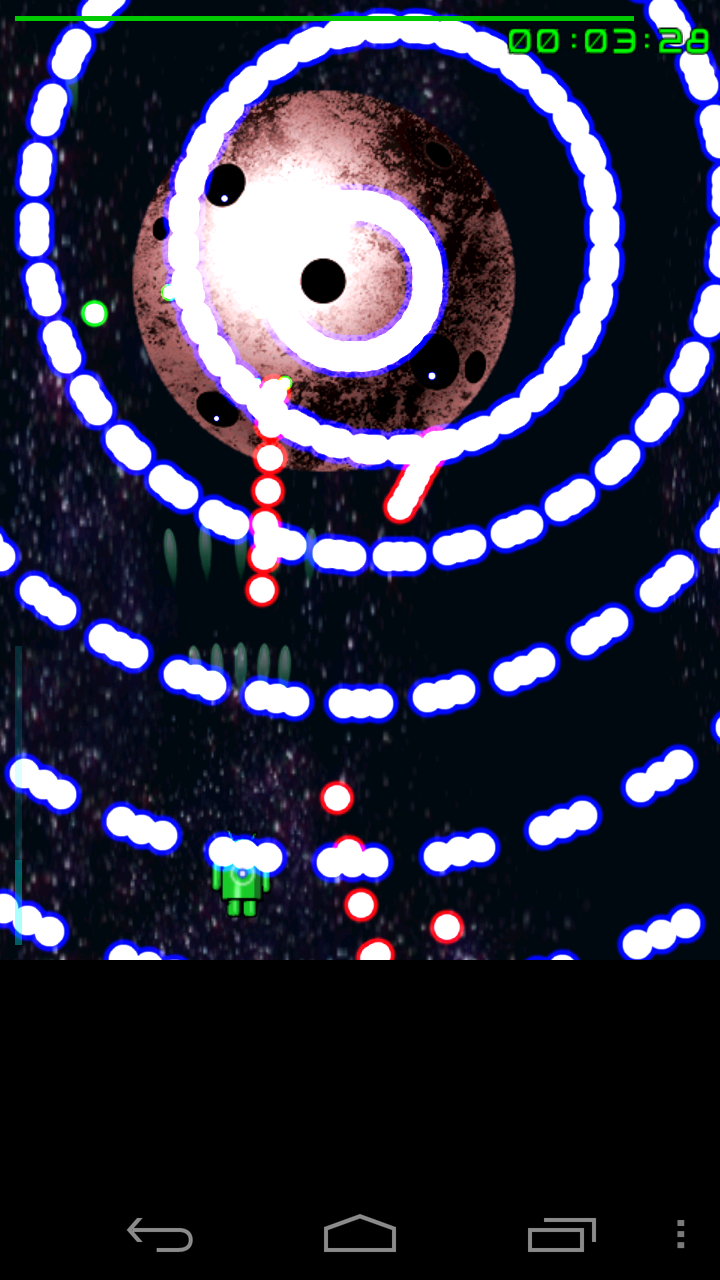 androidアプリ 弾幕デス攻略スクリーンショット3
