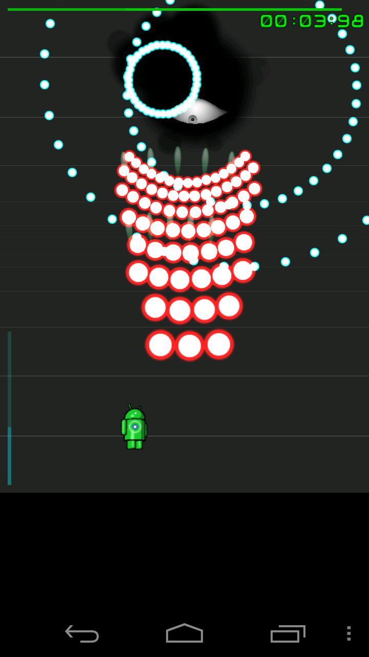androidアプリ 弾幕デス攻略スクリーンショット4