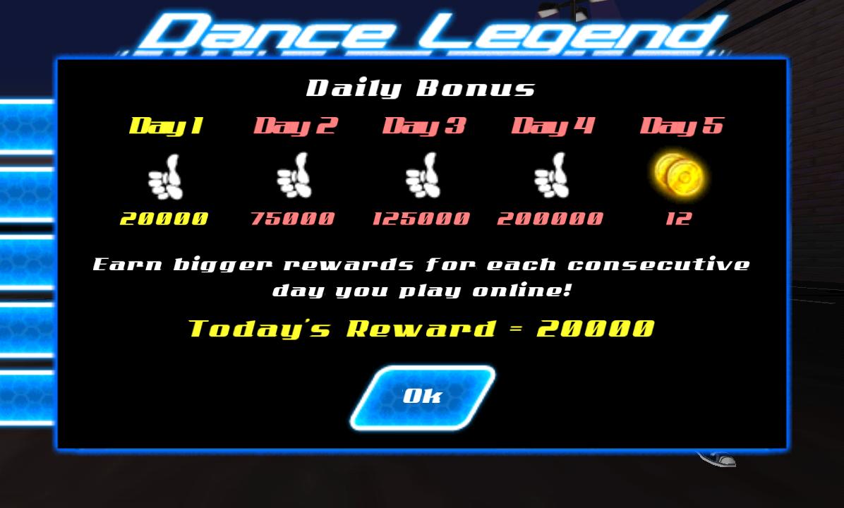 androidアプリ ダンス レジェンド ミュージック ゲーム攻略スクリーンショット1