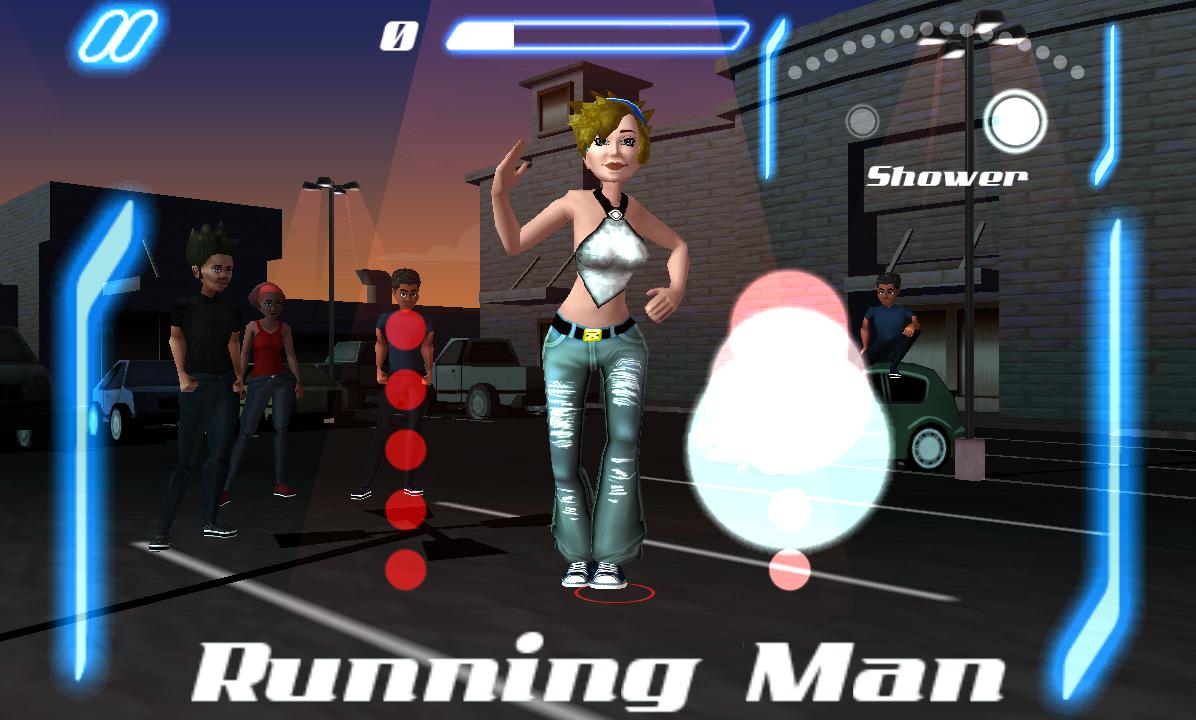 androidアプリ ダンス レジェンド ミュージック ゲーム攻略スクリーンショット2