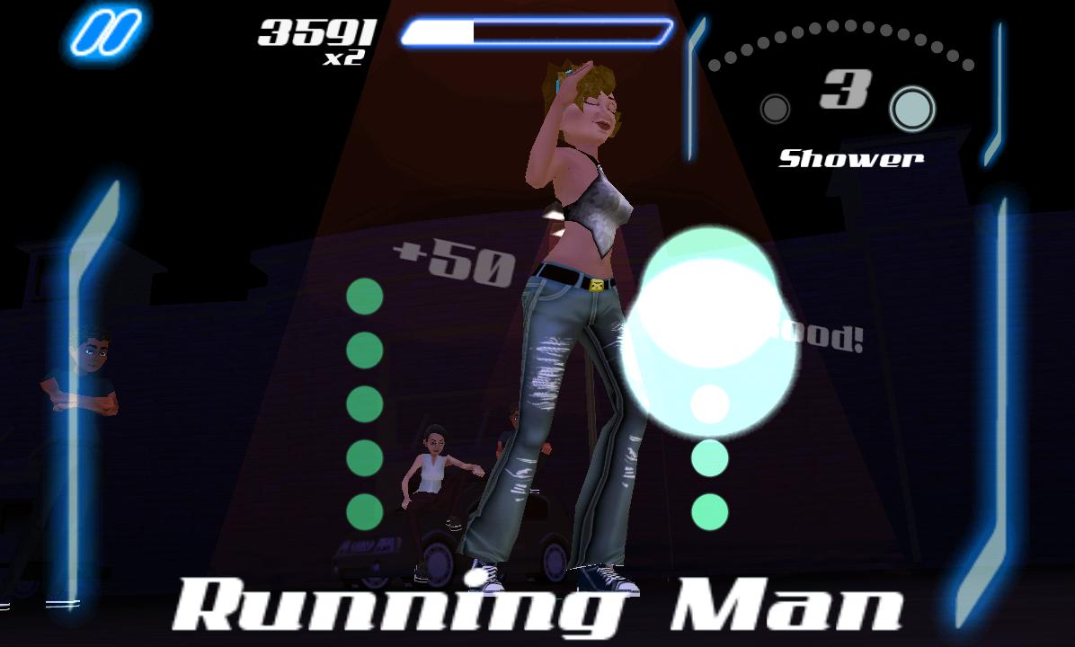 androidアプリ ダンス レジェンド ミュージック ゲーム攻略スクリーンショット5