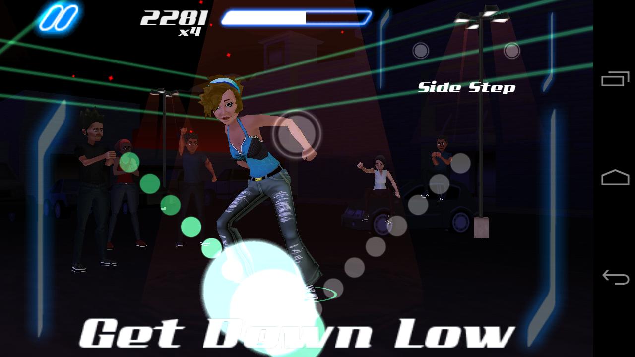 androidアプリ ダンス レジェンド ミュージック ゲーム攻略スクリーンショット6