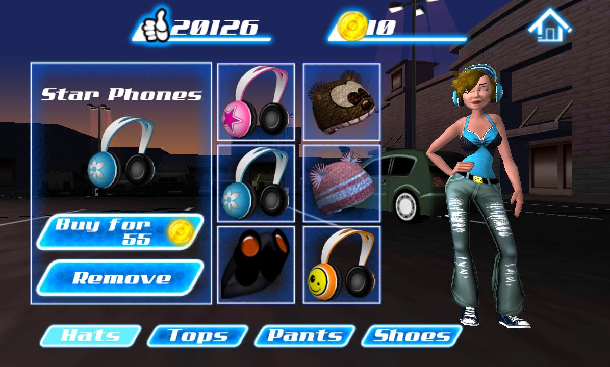 androidアプリ ダンス レジェンド ミュージック ゲーム攻略スクリーンショット7