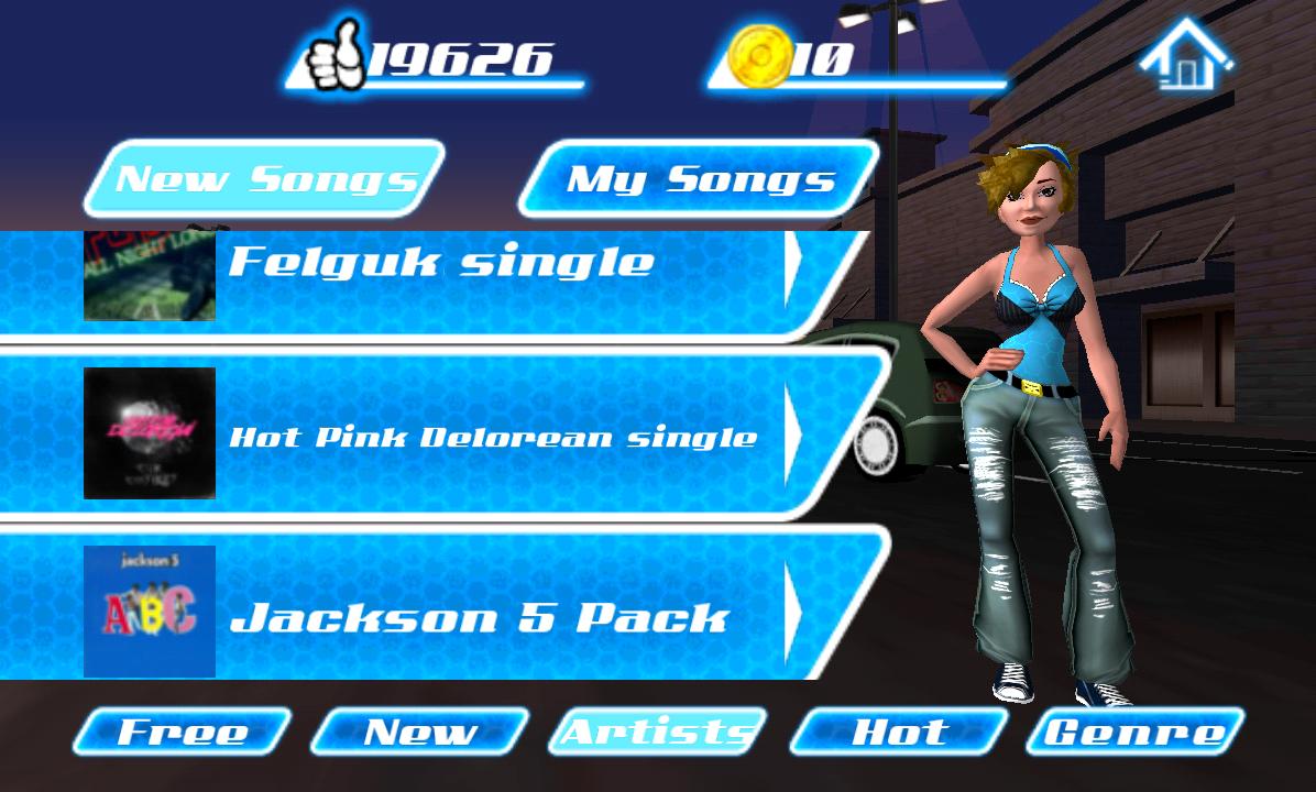 androidアプリ ダンス レジェンド ミュージック ゲーム攻略スクリーンショット8