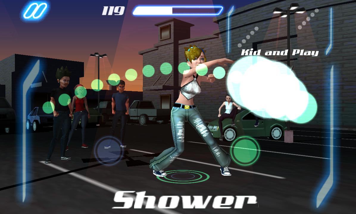 ダンス レジェンド ミュージック ゲーム androidアプリスクリーンショット1