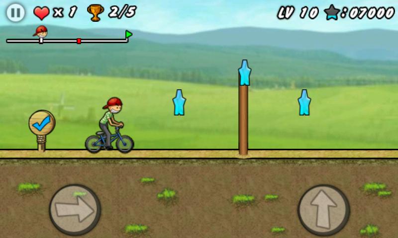 BMX ボーイ androidアプリスクリーンショット1