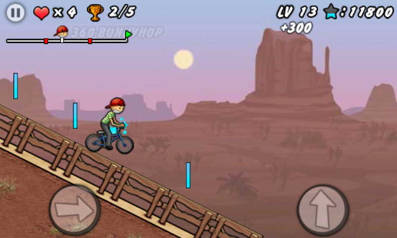 BMX ボーイ androidアプリスクリーンショット3