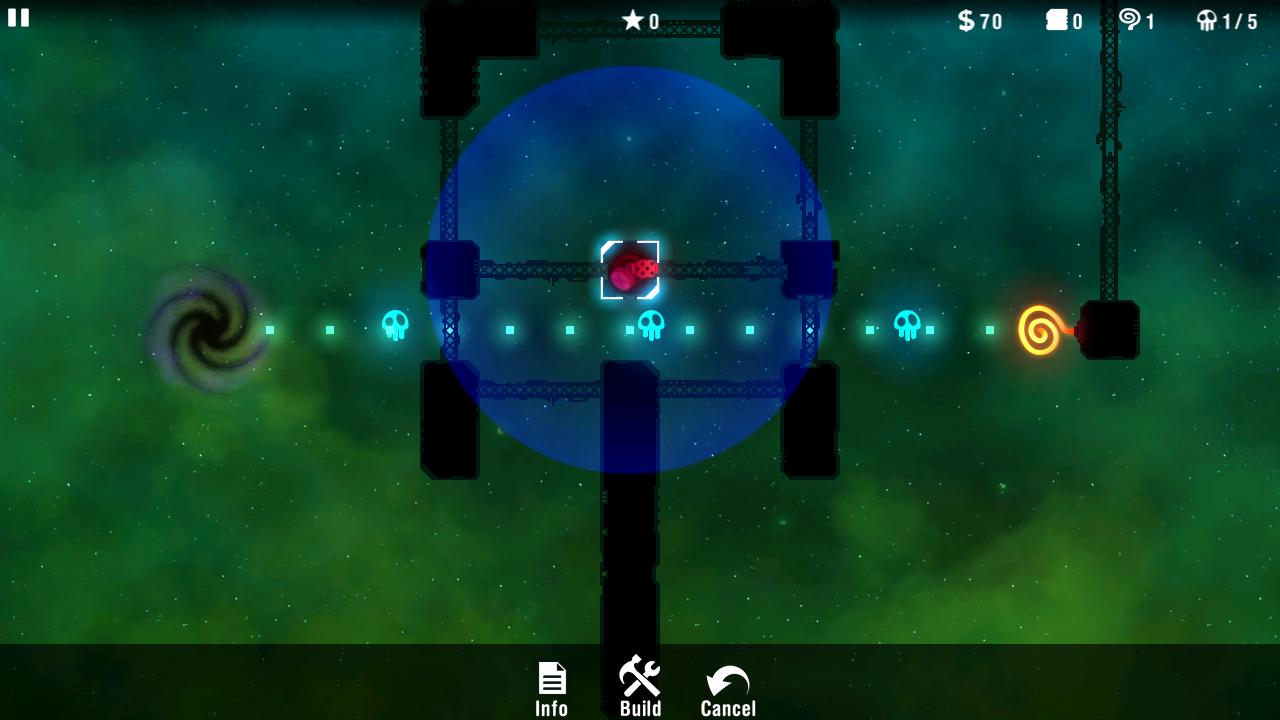 androidアプリ レディアントディフェンス攻略スクリーンショット1