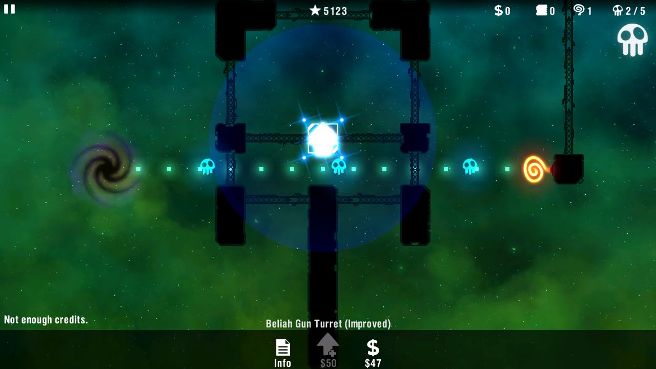 androidアプリ レディアントディフェンス攻略スクリーンショット4