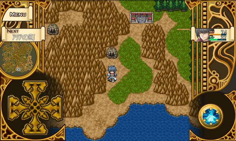 androidアプリ RPGこんな僕が救う世界攻略スクリーンショット4