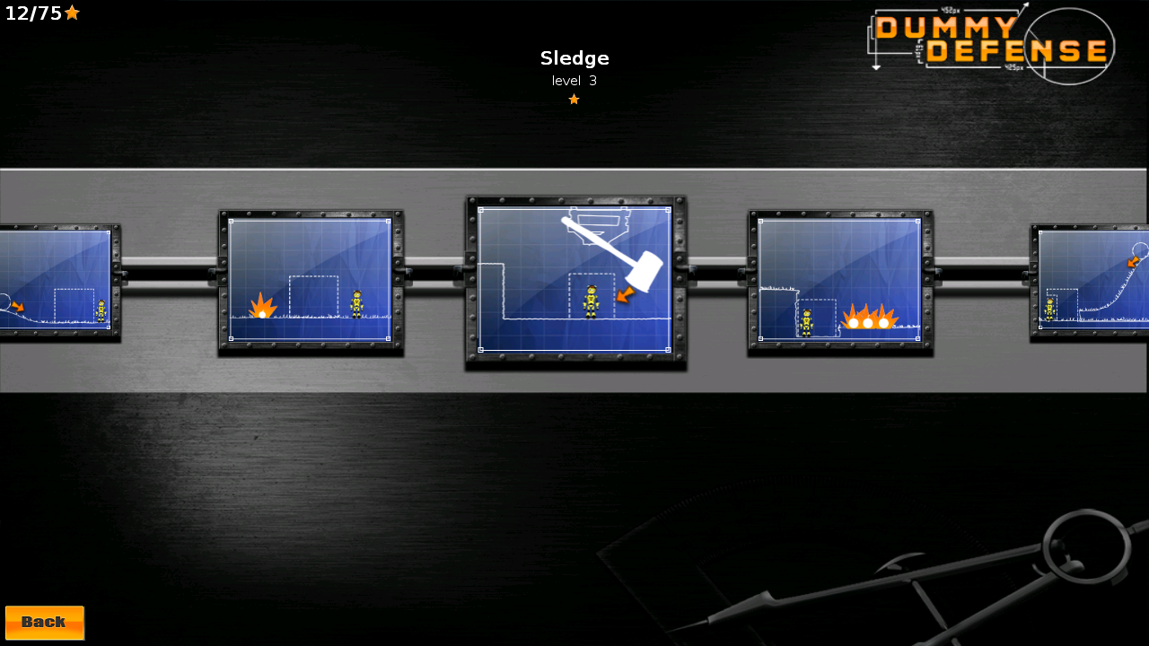 androidアプリ ダミー ディフェンス攻略スクリーンショット8