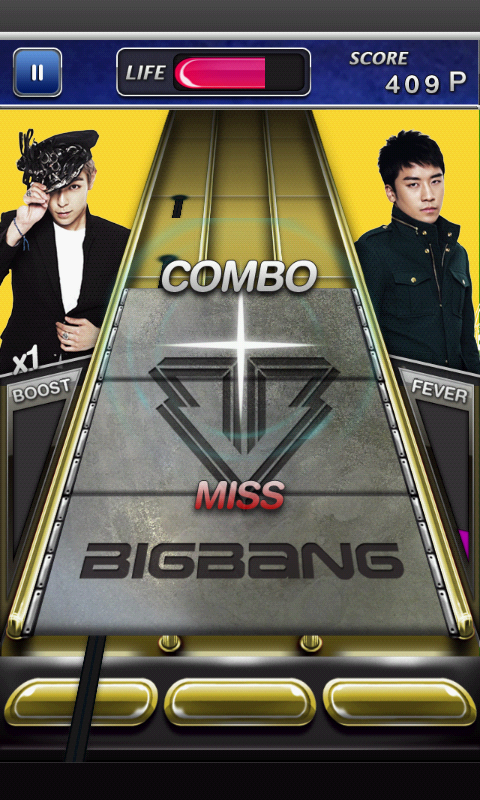 androidアプリ BIGBANG シェイク攻略スクリーンショット4