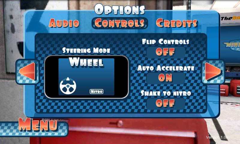 androidアプリ ミニモーターレーシング攻略スクリーンショット1